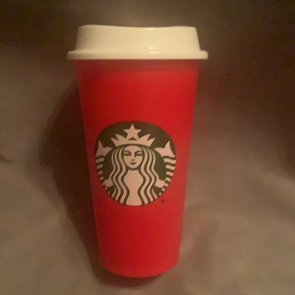 Starbucks reusable plastic tumbler